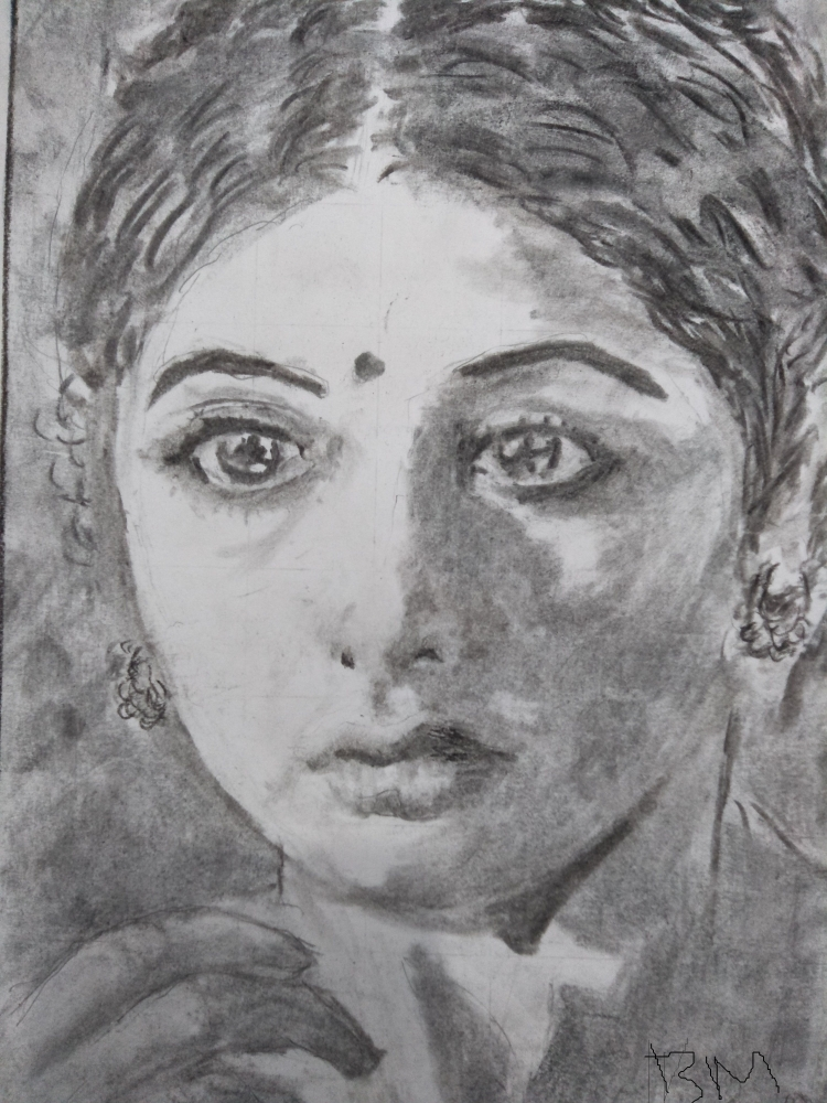 Sridevi by Mithu